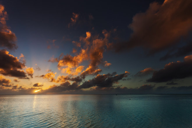 Aitutaki Sunset