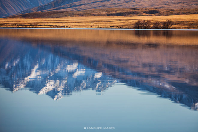 Lake Clearwater Reflections, Canterbury, New Zealand