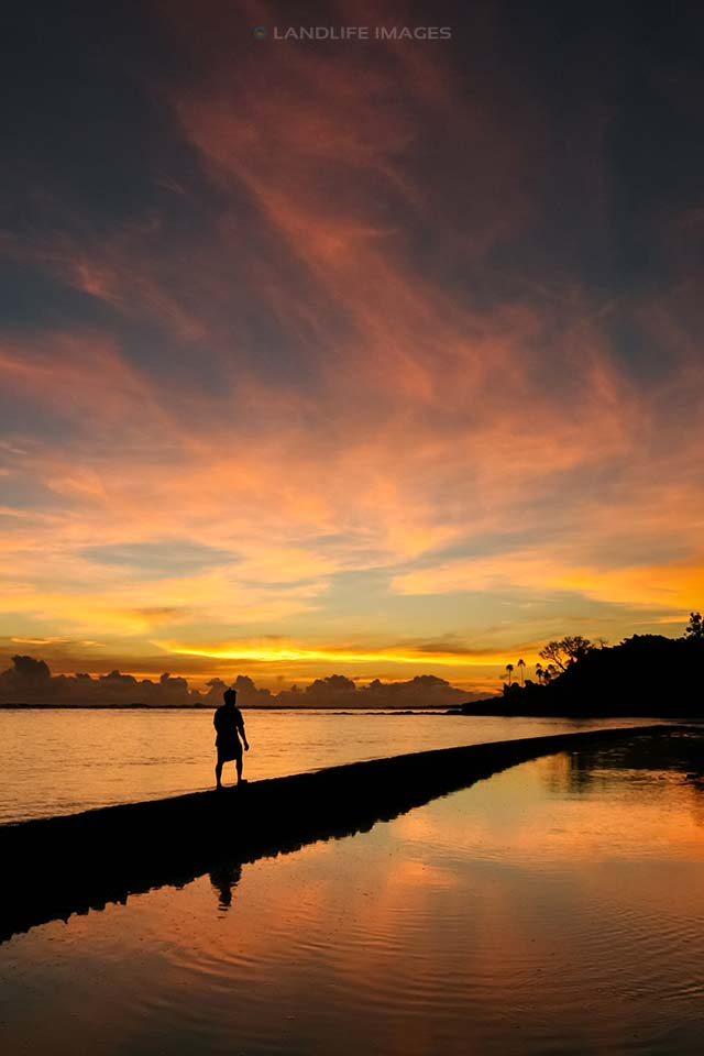 Samoan Sunsets at Satuiatua