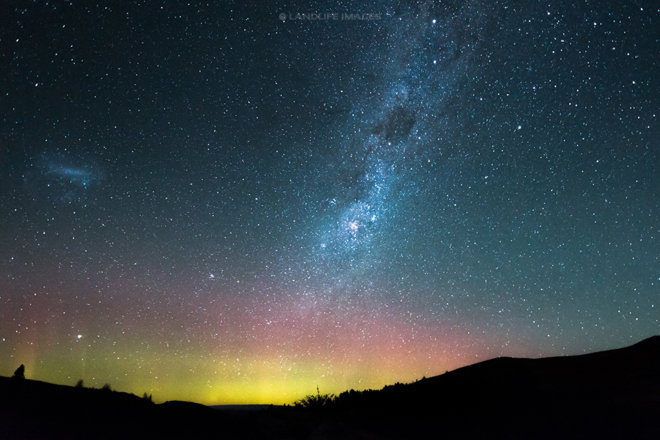 Aurora Australis, Central Otago, New Zealand