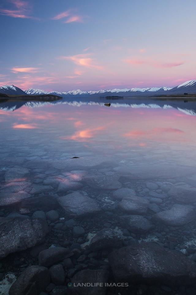 Lake Tekapo at Sunset, Portrait Dimension