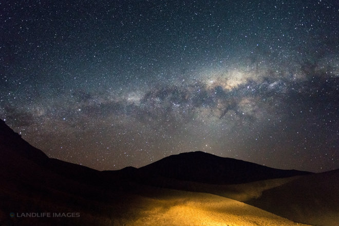 Milky Way over the Lindis Pass, Central Otago, New Zealand