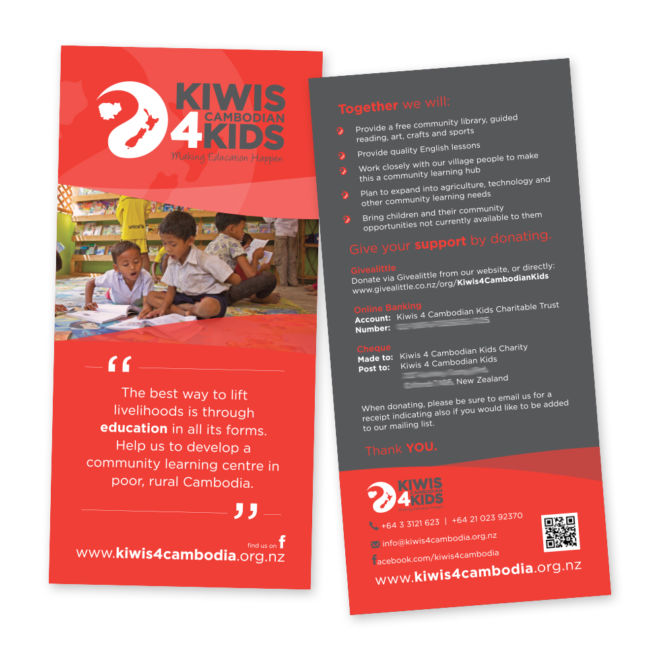 Kiwis 4 Cambodian Kids DL Flyer