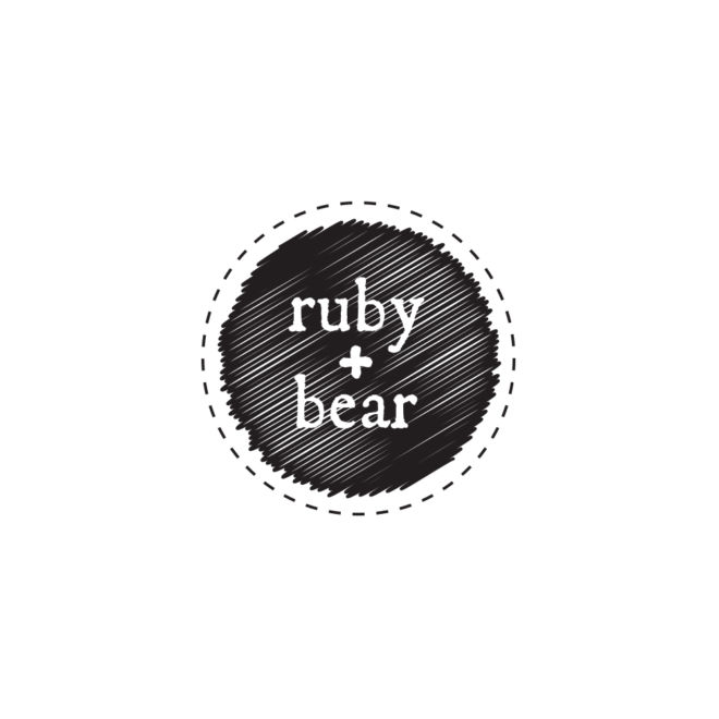 Ruby and Bear Logo