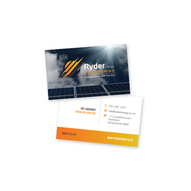 Ryder Energy Business Card