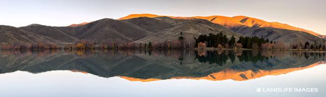 Kellands Pond Sunset Panorama
