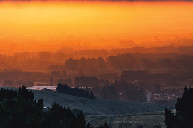 Christchurch Winter Sunsets, New Zealand
