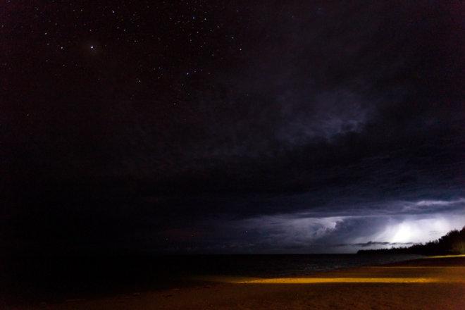 Aitutaki Night Storm