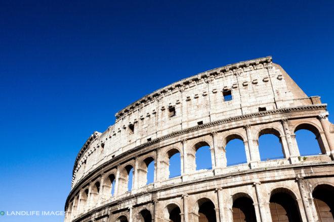 Colosseum and Sky