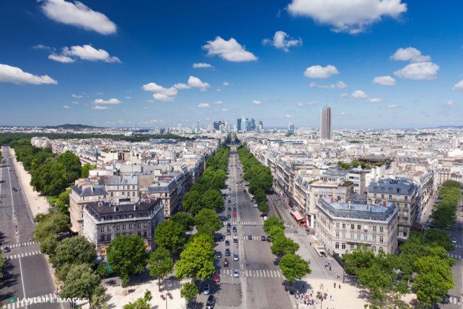 Parisian Street Views