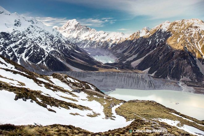 Mt Cook National Park Views, Canterbury, New Zealand