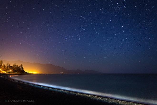 Kaikoura Glow by Night, New Zealand