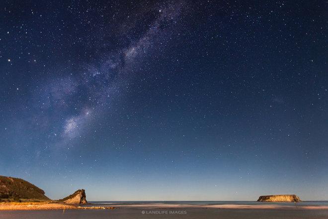 Motunau Starry Scenes, North Canterbury, New Zealand