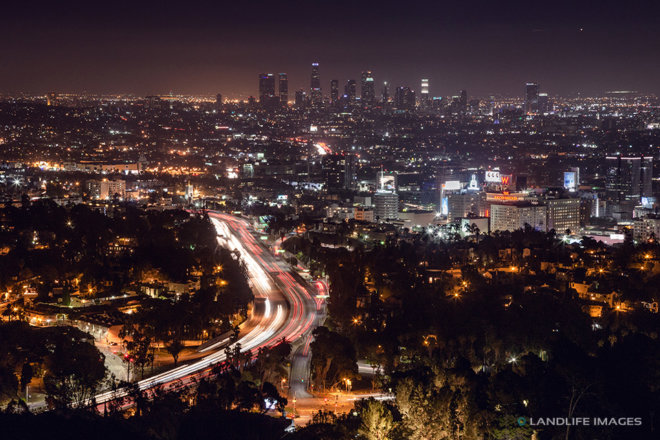 City of Angels by Night