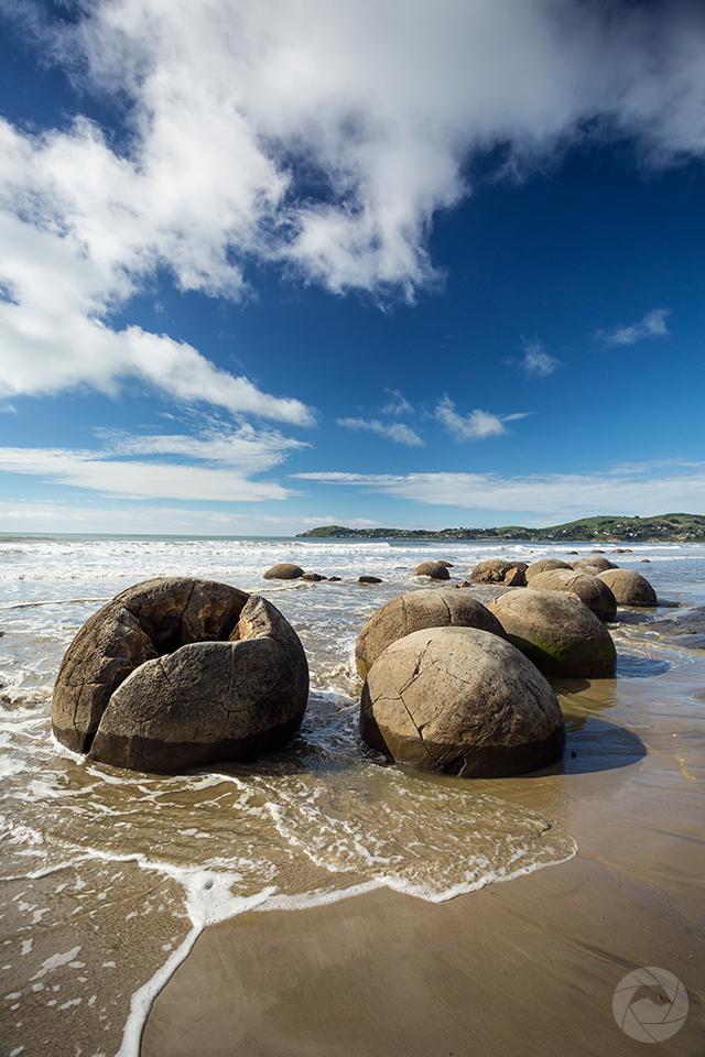 Moeraki Boulders, Moeraki, Otago, New Zealand