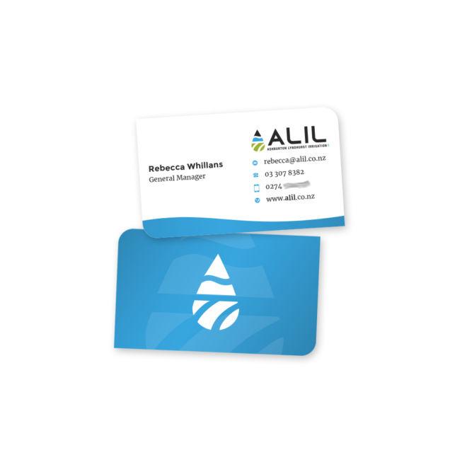 Ashburton Lyndhurst Irrigation Business Cards
