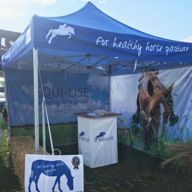 CP Lime Solutions Equi-Lise Show Marquee