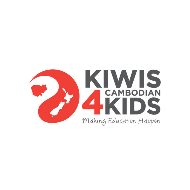 Kiwis 4 Cambodian Kids Logo
