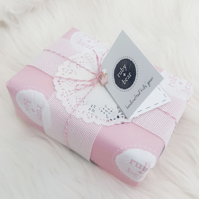 Ruby and Bear Mini Gift Cards