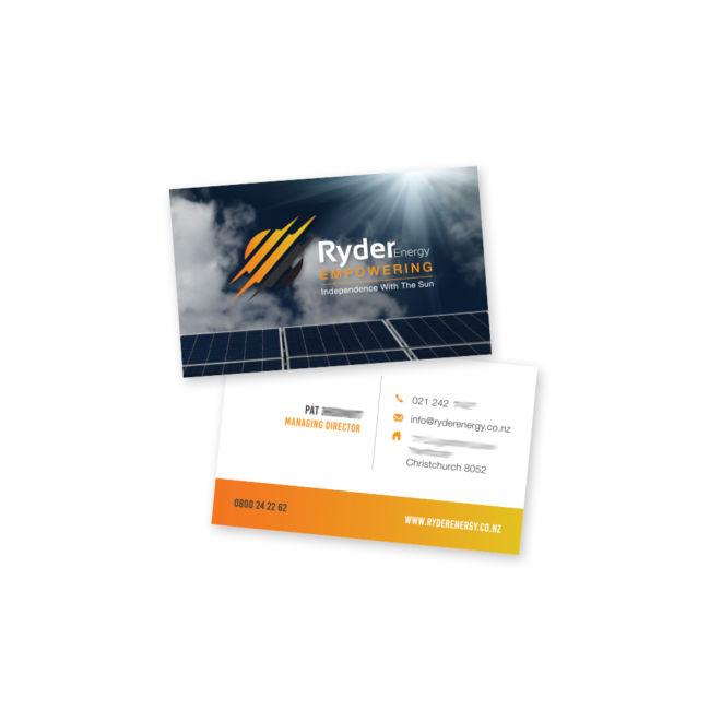 Ryder Energy Business Card