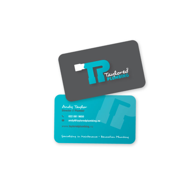 Taylored Plumbing Business Cards