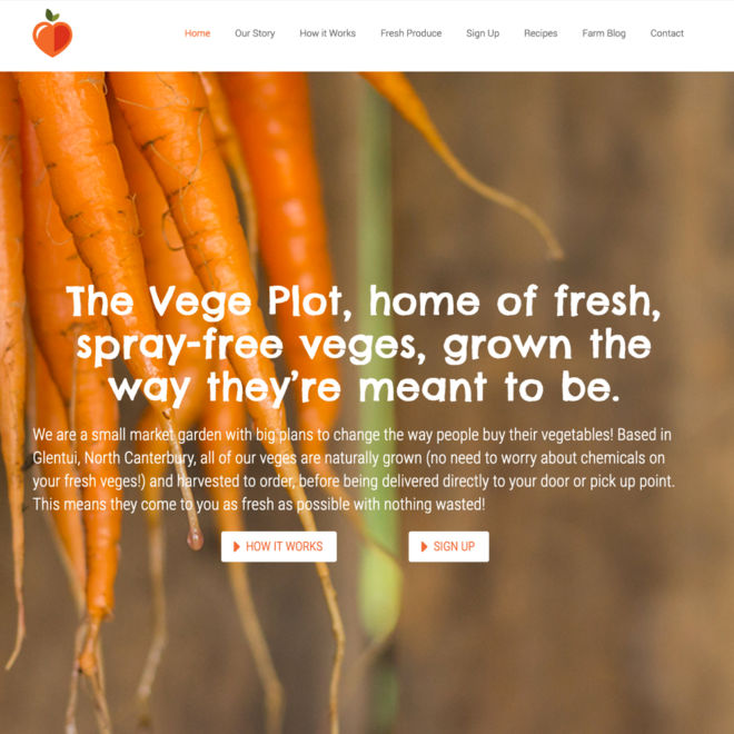 The Vege Plot Website