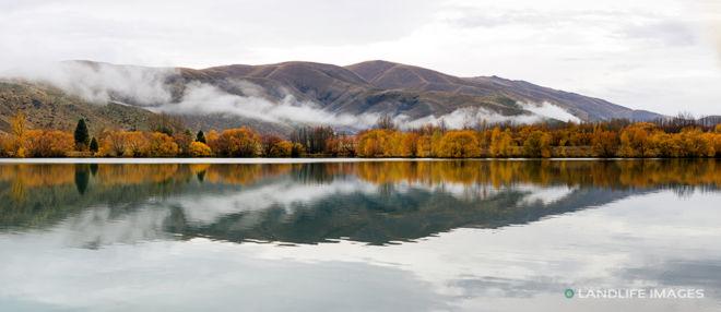 Kellands Ponds Misty Panorama