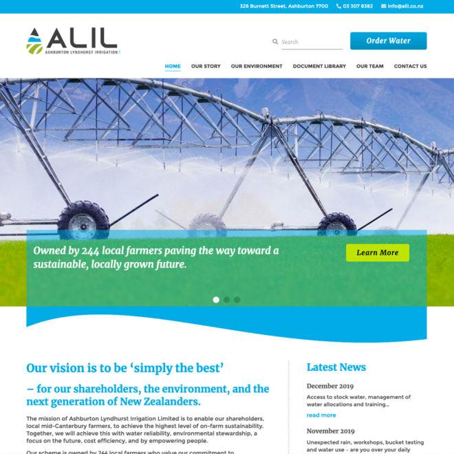 ALIL Website Design