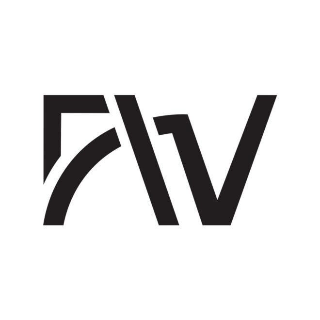 First Wheel logo symbol design